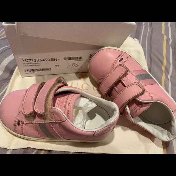 Girls Toddler Authentic Pink Gucci